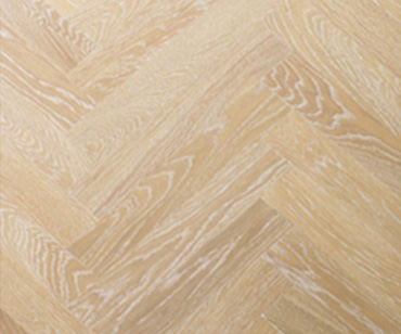 White Wash Herringbone American Oak