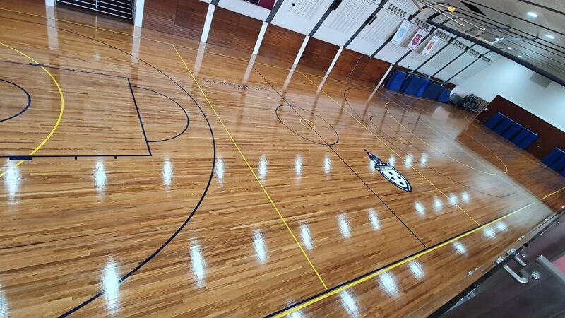 Sport Court Polishing & sanding Sydney
