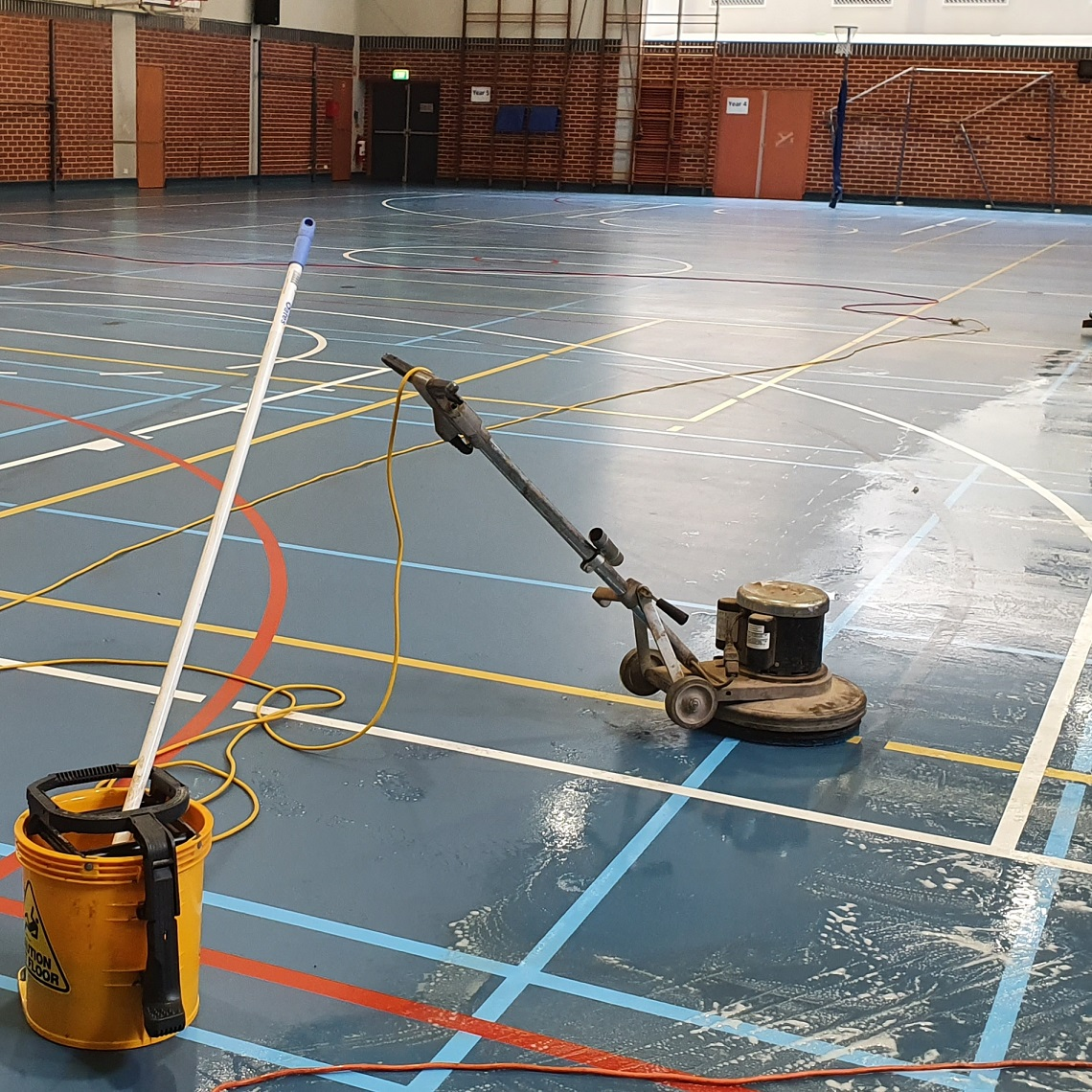 SCEGGS School Synthetic Basketball Court – 2