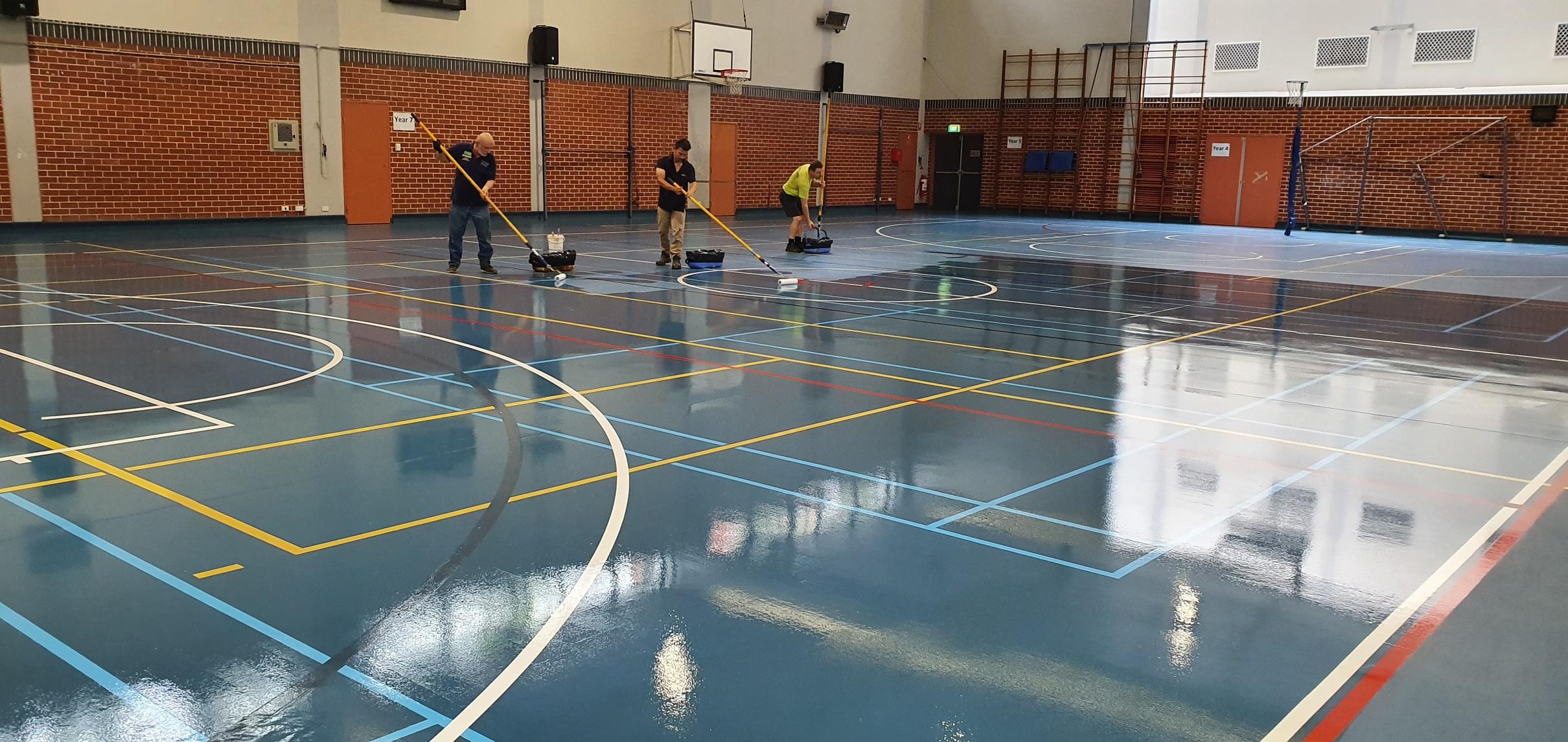 SCEGGS School Synthetic Basketball Court – 4