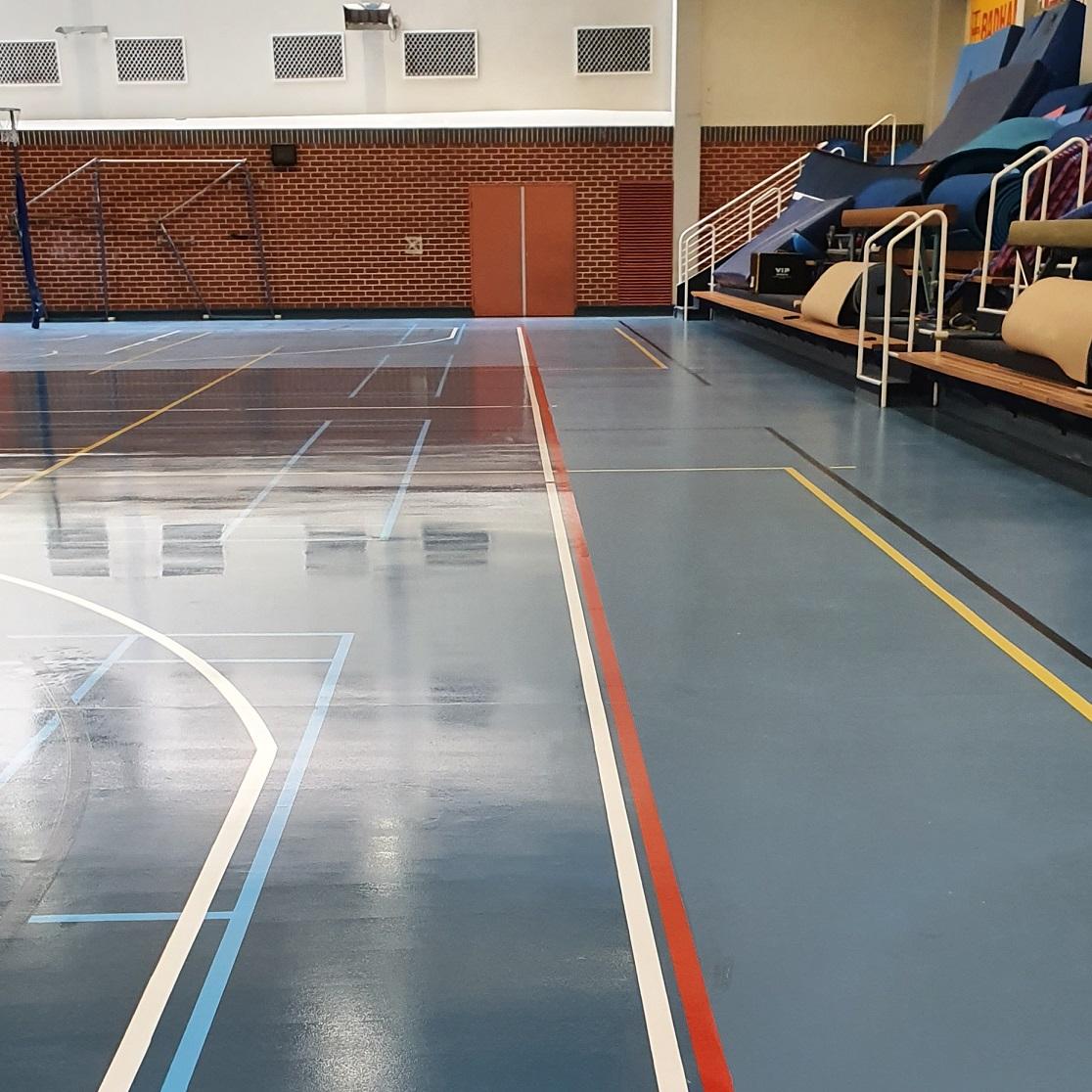 SCEGGS School Synthetic Basketball Court – 5